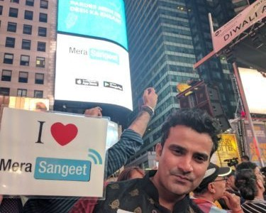 Mera Sangeet at Times Square NYC